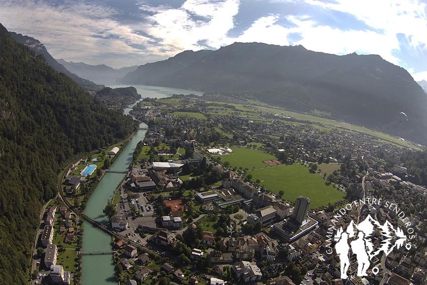 Panorámica Interlaken