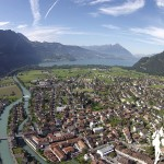 Panorámica Interlaken