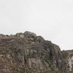 Piedra con forma de calavera
