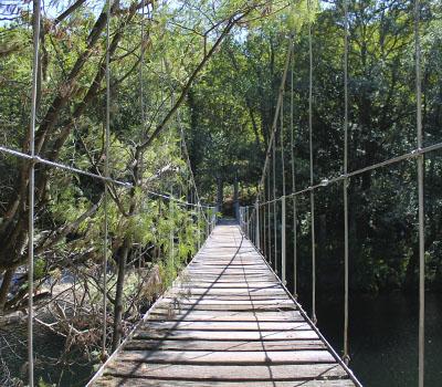 Puente Colgante Soutomaior (Pontevedra)