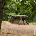 Dolmen de Axeitos o pedra do mouro