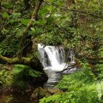 Salto agua río Valga