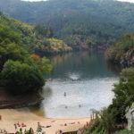 Playa fluvial da Cova