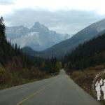 Carretera hacia Takakkaw Falls