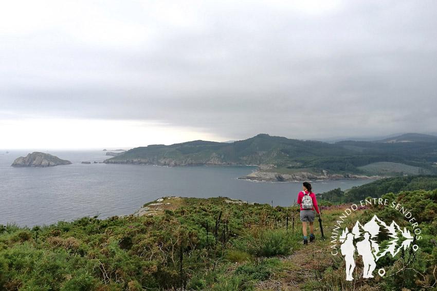 Camino hacia Miradoiro de Nacente
