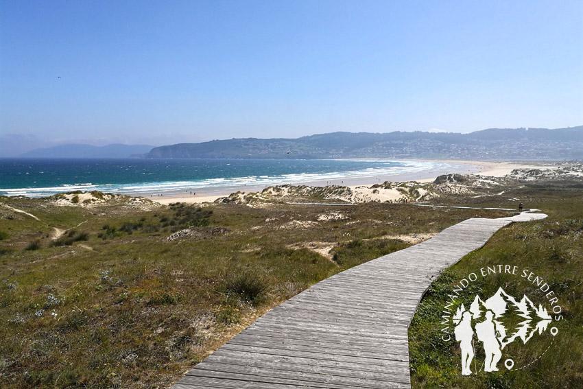 Pasarela playa de Frouxeira