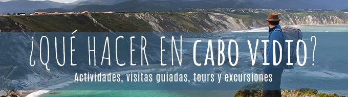 Actividades, visitas guiadas, tours y excursiones en Cabo Vidio